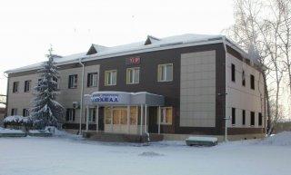 Административное здание Водоканала зимой
